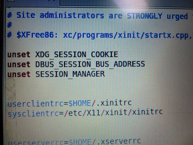 # $XFree86: xc/programs/xinit/~ を探しましょう。