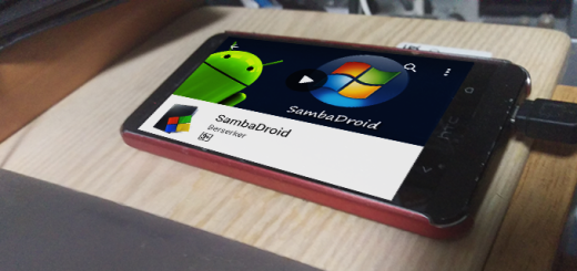 「SambaDroid」で、古いAndroidケータイをファイルサーバーにしてみた