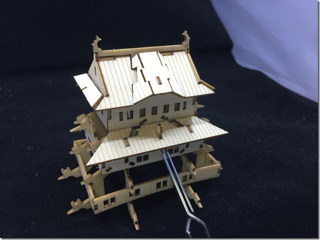 ki-gu-mi 姫路城 歪んで見えても気にせず進めて大丈夫。
